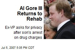 Al Gore III Returns to Rehab
