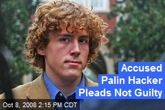 Accused Palin Hacker Pleads Not Guilty