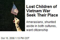 Lost Children of Vietnam War Seek Their Place