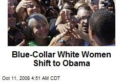 Blue-Collar White Women Shift to Obama
