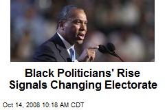 Black Politicians' Rise Signals Changing Electorate