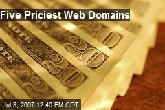 Five Priciest Web Domains