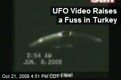 UFO Video Raises a Fuss in Turkey
