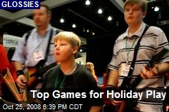 Top Games for Holiday Play