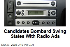 Candidates Bombard Swing States With Radio Ads