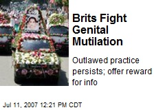 Brits Fight Genital Mutilation
