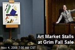 Art Market Stalls at Grim Fall Sale