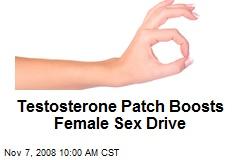 Testosterone Patch Boosts Female Sex Drive