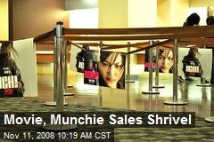 Movie, Munchie Sales Shrivel