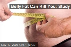 Belly Fat Can Kill You: Study