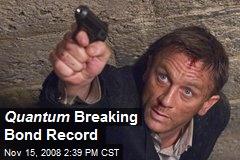 Quantum Breaking Bond Record
