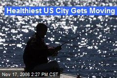Healthiest US City Gets Moving