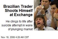 Brazilian Trader Shoots Himself at Exchange