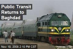 Public Transit Returns to Baghdad