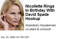 Nicollette Rings In Birthday With David Spade Hookup