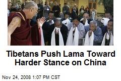 Tibetans Push Lama Toward Harder Stance on China
