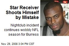 Star Receiver Shoots Himself by Mistake