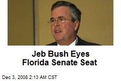 Jeb Bush Eyes Florida Senate Seat