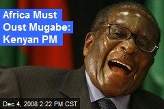 Africa Must Oust Mugabe: Kenyan PM