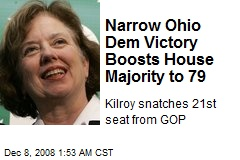 Narrow Ohio Dem Victory Boosts House Majority to 79