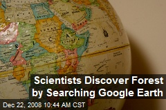 Scientists Discover Forest by Searching Google Earth