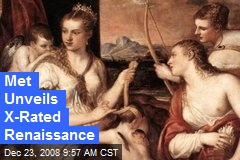 Met Unveils X-Rated Renaissance