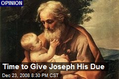 Time to Give Joseph His Due