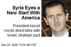 Syria Eyes a New Start With America