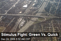 Stimulus Fight: Green Vs. Quick