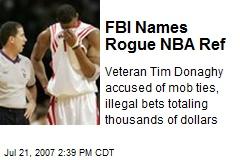 FBI Names Rogue NBA Ref
