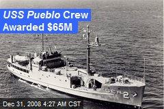 USS Pueblo Crew Awarded $65M