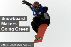 Snowboard Makers Going Green