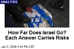 How Far Does Israel Go? Each Answer Carries Risks
