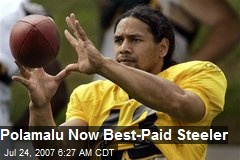 Polamalu Now Best-Paid Steeler