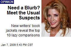 Need a Blurb? Meet the Usual Suspects