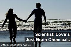 Scientist: Love's Just Brain Chemicals