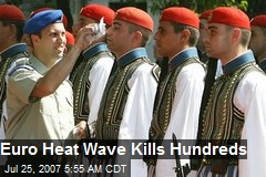 Euro Heat Wave Kills Hundreds