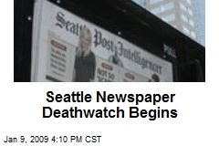 Seattle Newspaper Deathwatch Begins
