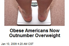 Obese Americans Now Outnumber Overweight
