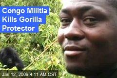 Congo Militia Kills Gorilla Protector
