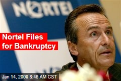 Nortel Files for Bankruptcy