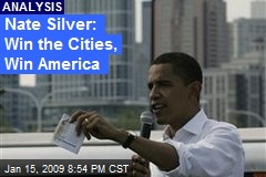 Nate Silver: Win the Cities, Win America
