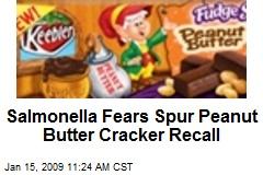 Salmonella Fears Spur Peanut Butter Cracker Recall