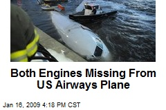 Both Engines Missing From US Airways Plane