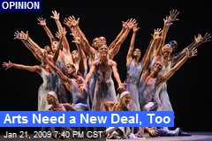 Arts Need a New Deal, Too