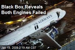 Black Box Reveals Both Engines Failed