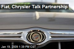 Fiat, Chrysler Talk Partnership
