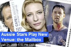 Aussie Stars Play New Venue: the Mailbox