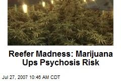 Reefer Madness: Marijuana Ups Psychosis Risk