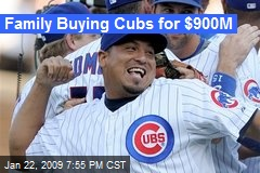 Family Buying Cubs for $900M